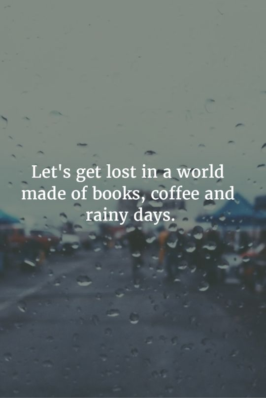 coffee and rainy days