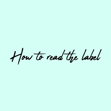Fair trade,  how to read thelabel.